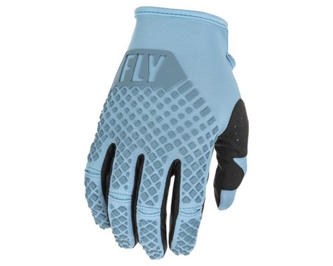 Fly Racing Youth Kinetic Gloves (Light Blue) (Youth L)