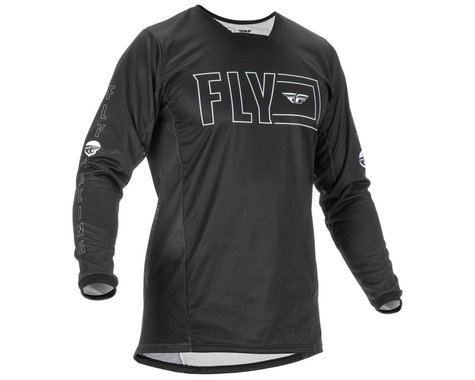 Fly Racing Kinetic Fuel Jersey (Black/White) (S)