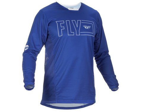 Fly Racing Kinetic Fuel Jersey (Blue/White) (S)