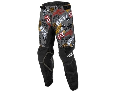 Fly Racing Youth Kinetic Rebel Pants (Black/Grey) (22)