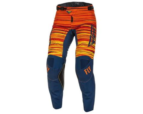 Fly Racing Kinetic Wave Pants (Navy/Orange) (38)
