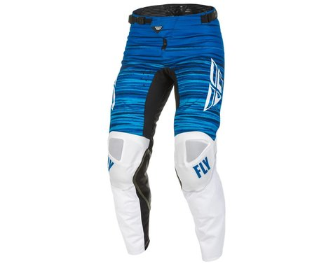 Fly Racing Kinetic Wave Pants (White/Blue) (38)