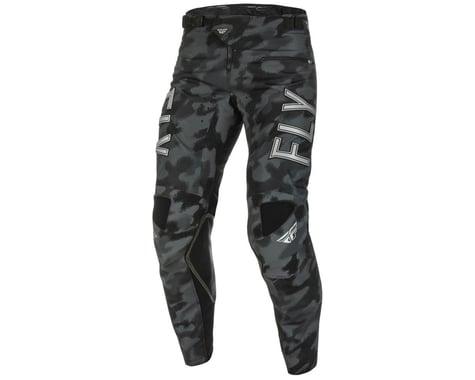 Fly Racing Kinetic S.E. Tactic Pants (Black/Grey Camo) (28)