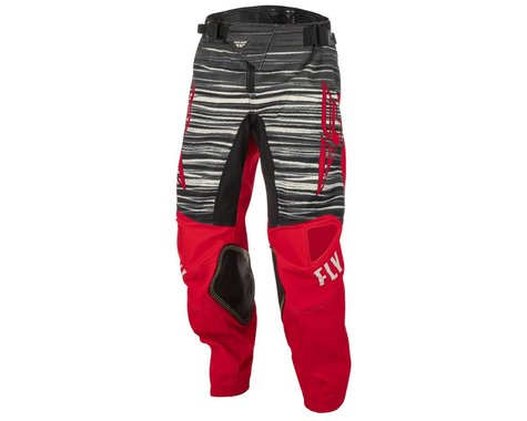 Fly Racing Youth Kinetic Wave Pants (Red/Grey) (18)