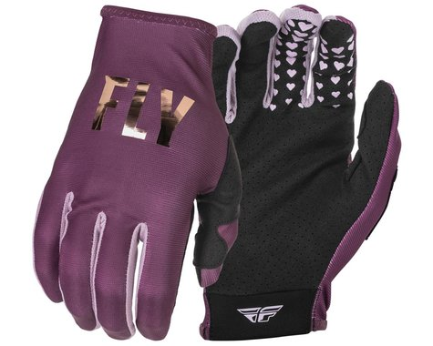 Fly Racing Women's Lite Gloves (Mauve) (Youth L)