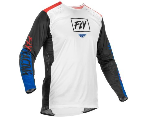 Fly Racing Lite Jersey (Red/White/Blue) (S)