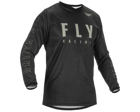 Fly Racing F-16 Jersey (Black/Grey) (S)