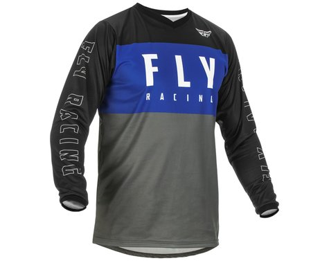 Fly Racing F-16 Jersey (Blue/Grey/Black) (S)