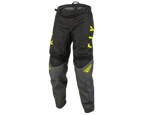 Fly Racing Youth F-16 Pants (Grey/Black/Hi-Vis) (20)