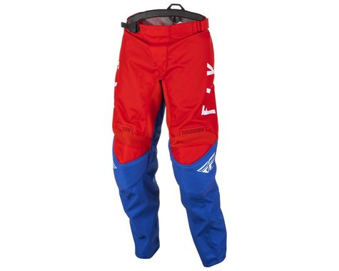 Fly Racing Youth F-16 Pants (Red/White/Blue) (18)