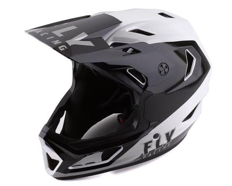 Fly Racing Rayce Helmet (Black/White) (XS)