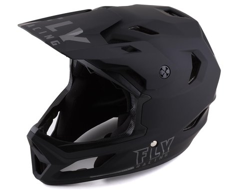 Fly Racing Rayce Helmet (Matte Black) (XL)