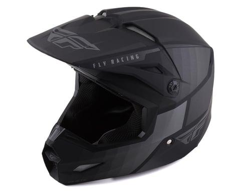 Fly Racing Kinetic Drift Helmet (Matte Black/Charcoal) (Youth L)