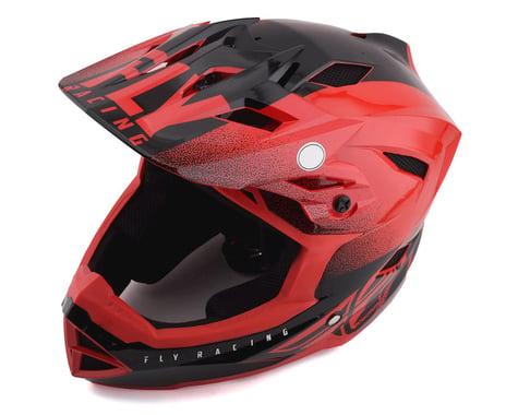 Fly Racing Default Full Face Mountain Bike Helmet (Red/Black)