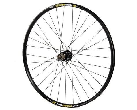 "Forte Terramax Disc Mountain Rear Wheel (Black) (Shimano/SRAM) (QR x 135mm) (29"" / 622 ISO)"