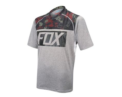 Fox Racing Indicator Print Short Sleeve Jersey - 2016 (Grey)