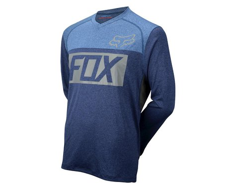 Fox Racing Indicator Long Sleeve Jersey (Blue)
