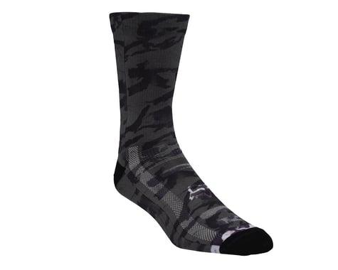 """Fox Racing 8"""" Creo Trail Socks (Black/White)"""
