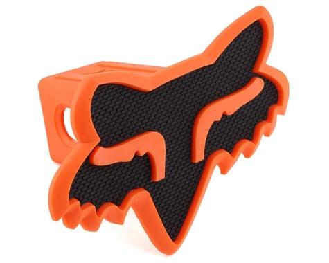 "Fox Racing Trailer Hitch Cover (Black/Orange) (2"")"