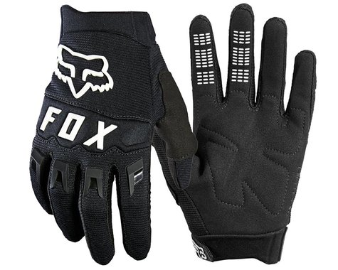 Fox Racing Dirtpaw Youth Glove (Black/White) (Youth XS)