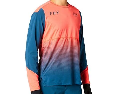 Fox Racing Flexair Long Sleeve Jersey (Atomic Punch) (M)