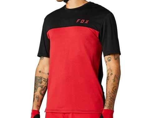 Fox Racing Flexair Delta Short Sleeve Jersey (Chili) (XL)