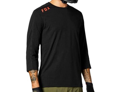 Fox Racing Ranger DriRelease 3/4 Length Sleeve Jersey (Black) (2XL)