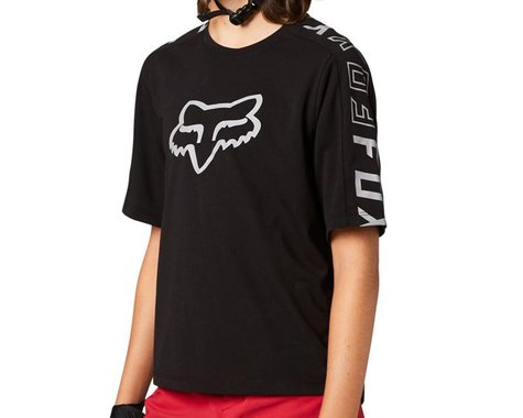 Fox Racing Ranger DriRelease Short Sleeve Youth Jersey (Black) (Youth S)