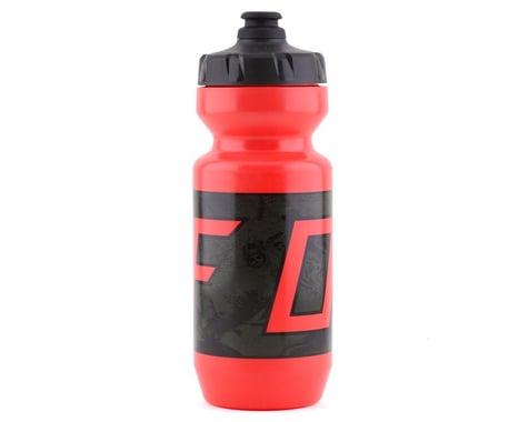 Fox Racing Purist Water Bottle (Red/Black) (22oz)