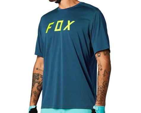 Fox Racing Ranger Fox Short Sleeve Jersey (Blue/Yellow) (S)