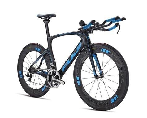 Fuji Bikes Fuji Norcom Straight 1.1 Triathlon Road Bike - 2016 (Carbon/Cyan)