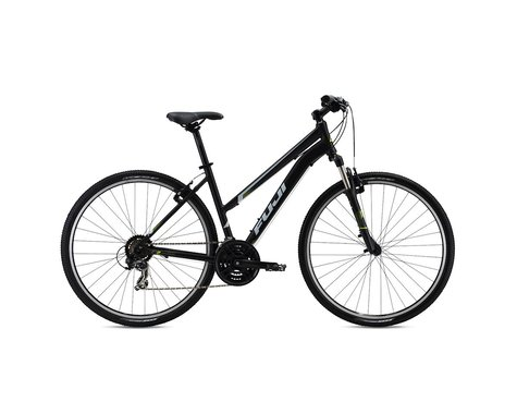 Fuji Bikes Fuji Traverse 1.9 Women's Sport Hybrid Bike 2016 (Black)