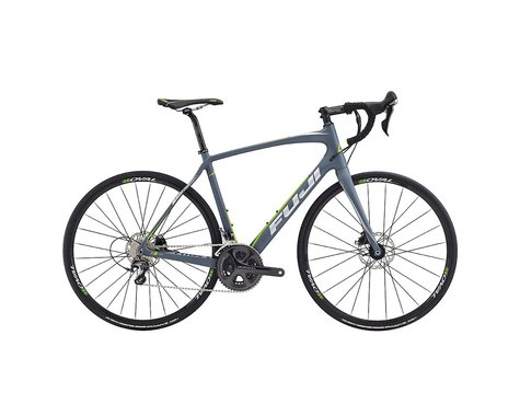 Fuji Bikes Fuji Gran Fondo 2.1 Disc Road Bike - 2017 (Dark Grey)
