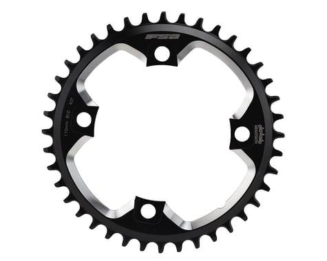 FSA Gossamer MegaTooth Pro Chainring - 110 BCD (Road/CX) (Black)