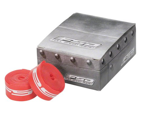 "FSA ATB 26"" Rim Strips (Red) (Nylon) (10) (17mm)"