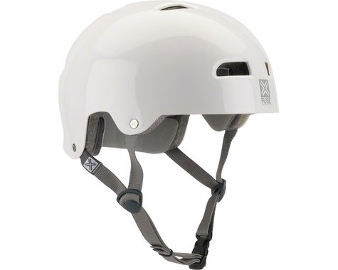 Fuse Protection Alpha Icon Helmet (Glossy White)
