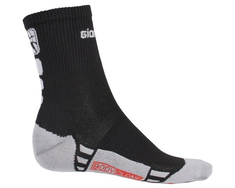 Giordana Men's FR-C Mid Cuff Socks (Black/White) (S)
