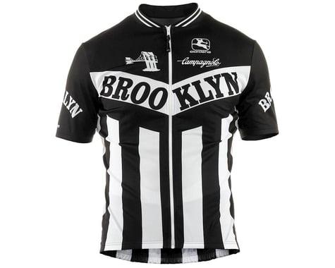 Giordana Team Brooklyn Vero Pro Fit Short Sleeve Jersey (Black) (2XL)