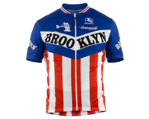 Giordana Team Brooklyn Vero Pro Fit Short Sleeve Jersey (Traditional) (M)