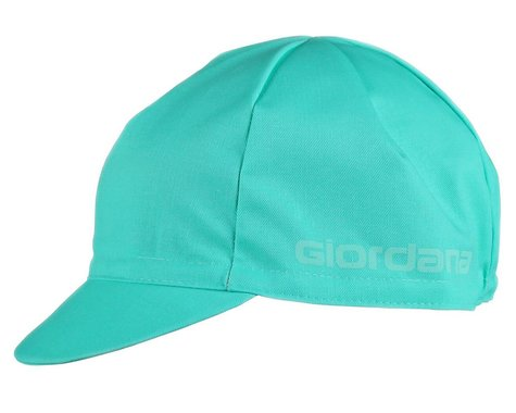 Giordana Solid Cotton Cycling Cap (Mint) (One Size Fits Most)