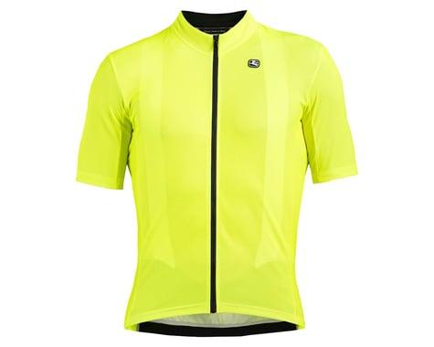 Giordana Fusion Short Sleeve Jersey (Fluorescent Yellow) (S)