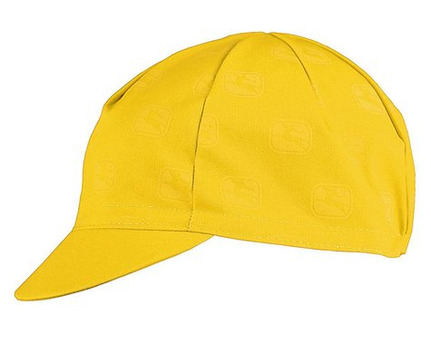 Giordana Sagittarius Cotton Cycling Cap (Yellow) (One Size Fits Most)