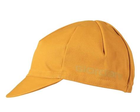 Giordana Solid Cotton Cycling Cap w/ Ribbon (Mustard Yellow) (Universal Adult)