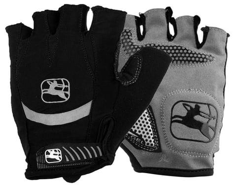 Giordana Strada Gel Short Finger Gloves (Black) (XL)