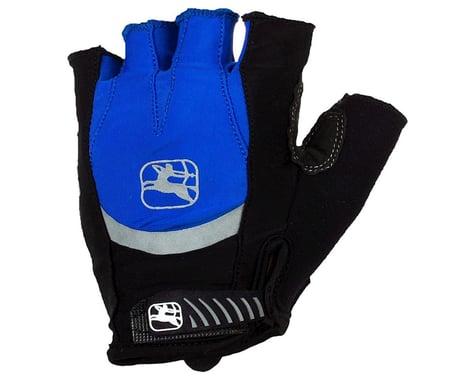 Giordana Strada Gel Short Finger Gloves (Blue) (XL)