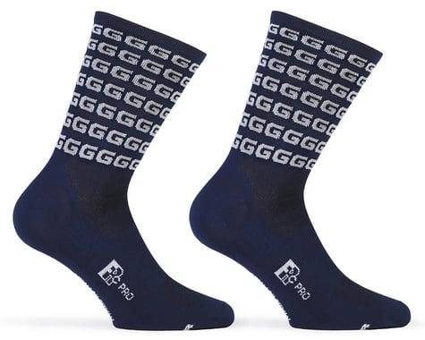 "Giordana FR-C Tall ""G"" Socks (Blue/White) (S)"