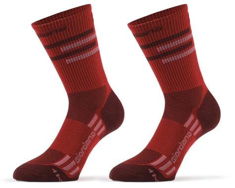 Giordana FR-C Tall Lines Socks (Sangria) (S)