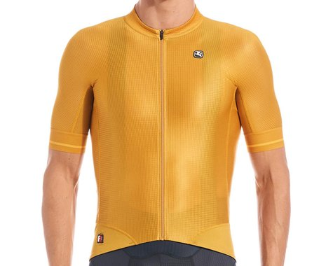 Giordana Men's FR-C Pro Short Sleeve Jersey (Mustard Yellow) (L)