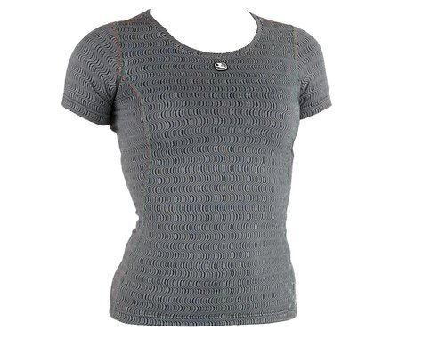 Giordana Women's Ceramic Short Sleeve Base Layer (Grey) (S)