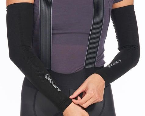 Giordana Knitted Dryarn Arm Warmers (Black) (XS/S)